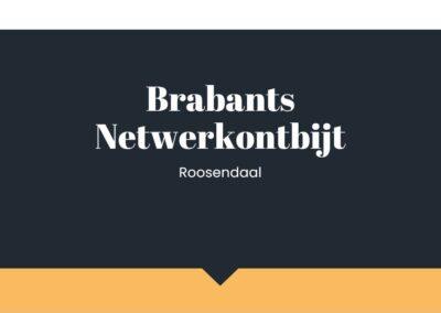 Fris grafisch ontwerp voor netwerkclub