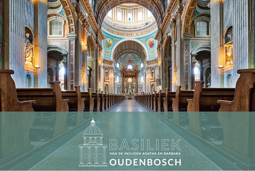 Een modern logo voor de Basiliek Oudenbosch