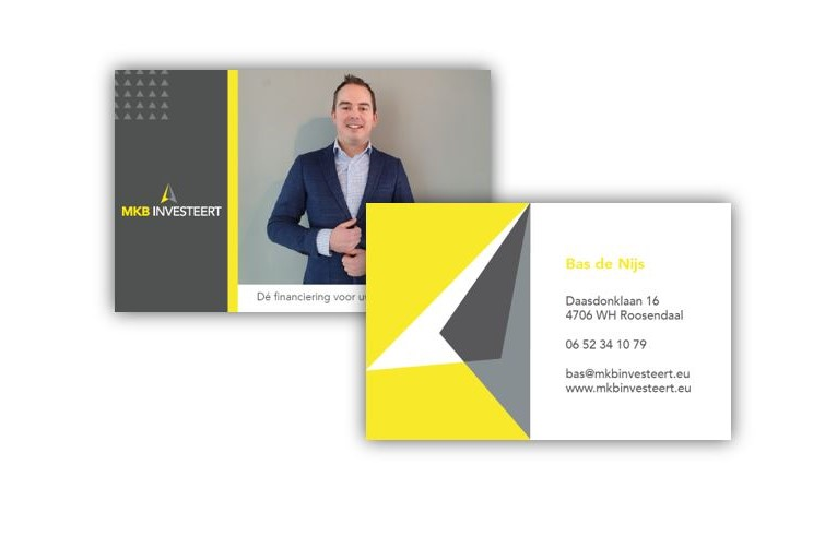 Visitekaartje ontwerp
