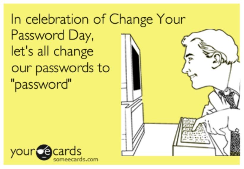 Verander je wachtwoord op de Wereld Wachtwoord Dag
